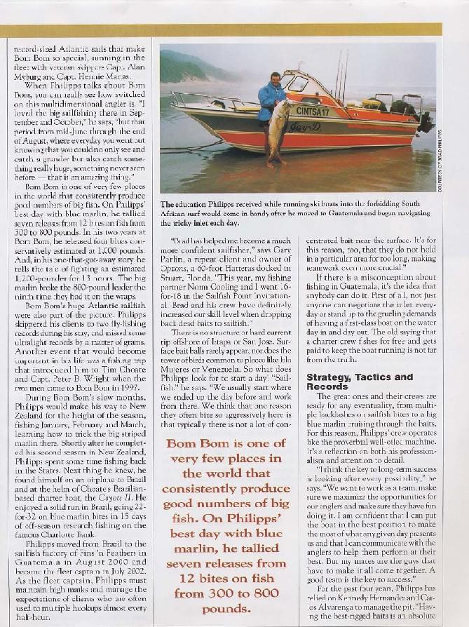Guatemalan Billfishing Adventures > Magazines